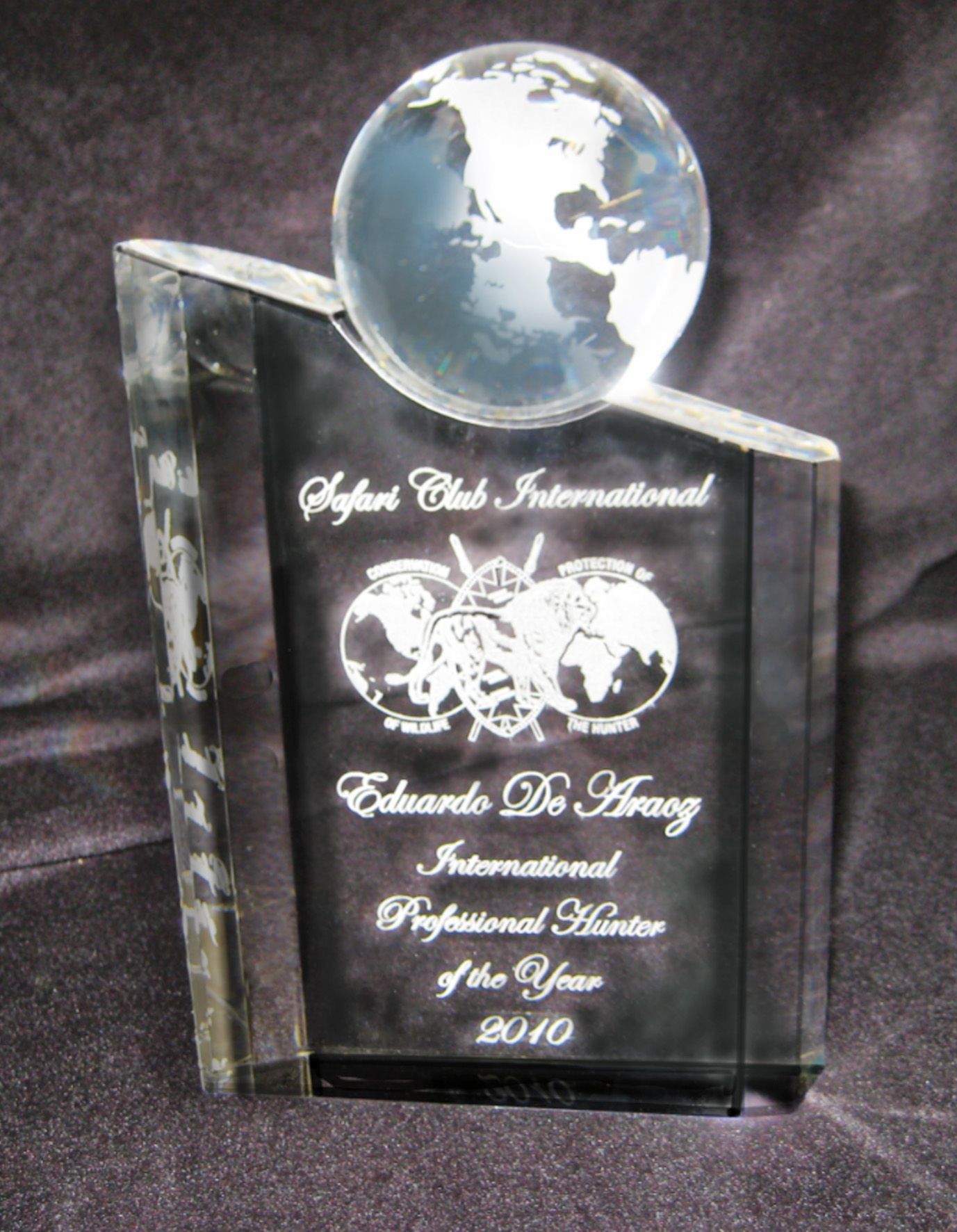 safari club international award