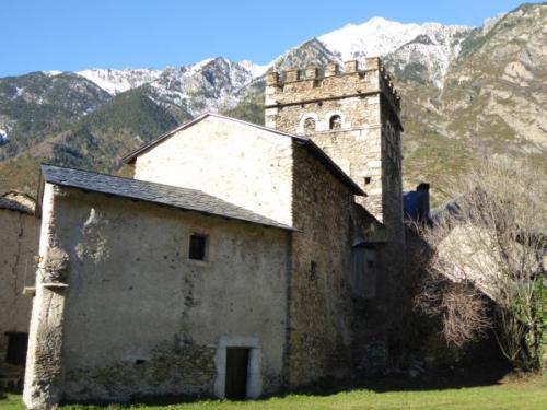 Romanic Church in Benasque