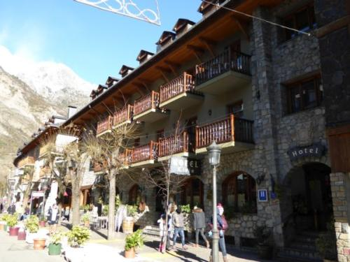 Hotel in the Pyrenees