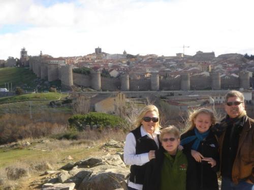 The city of Avila