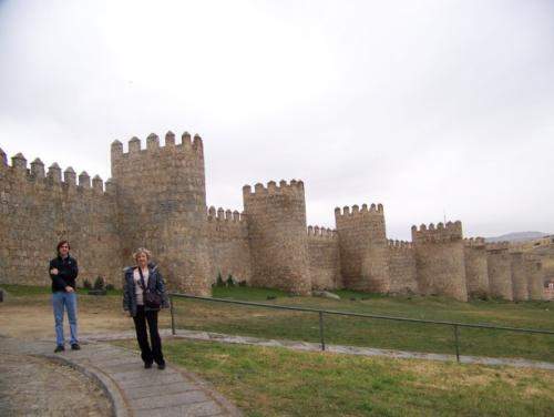 The fortified City of Avila