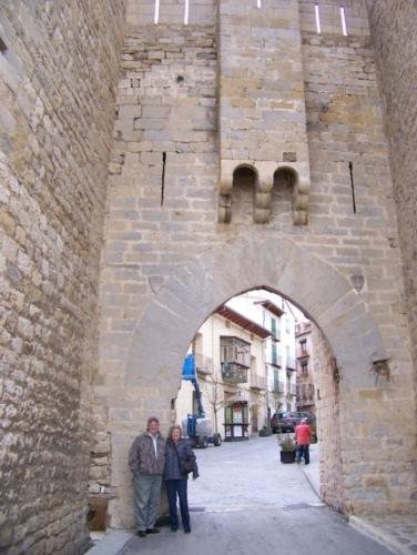 The entrance of the town of Morella