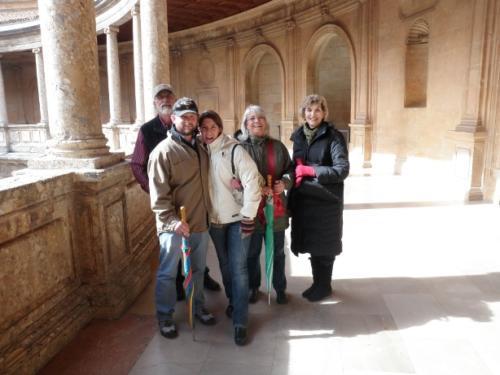 Carlos V Palace in Granada